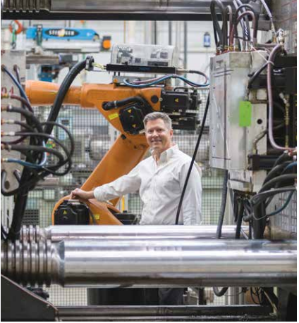 Craig Ferriot at Ferriot Inc. Injection molding and custom manufacturing.